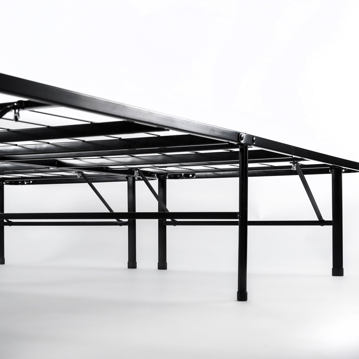 14 inch twin smartbase mattress foundation rochester for Twin bed base with storage