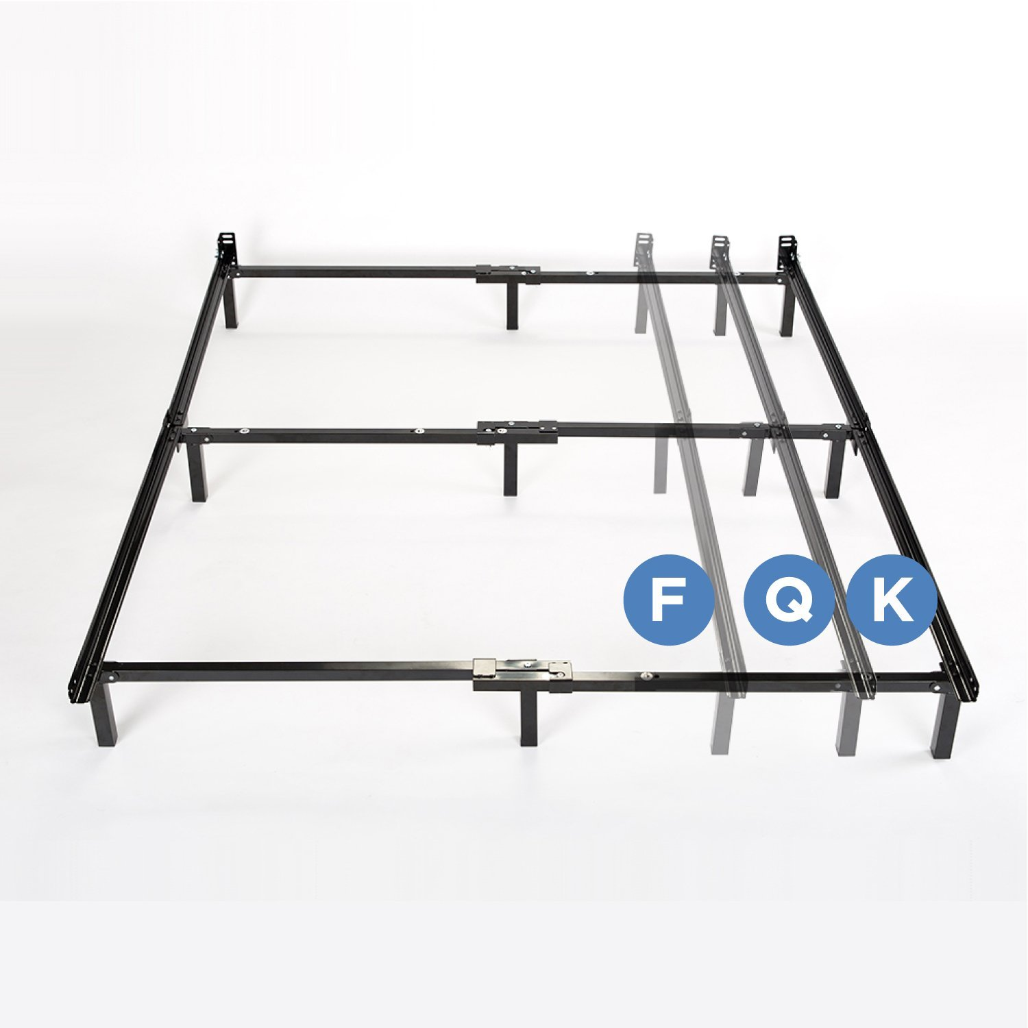 Compack Adjustable Steel Bed Frame For Box Spring