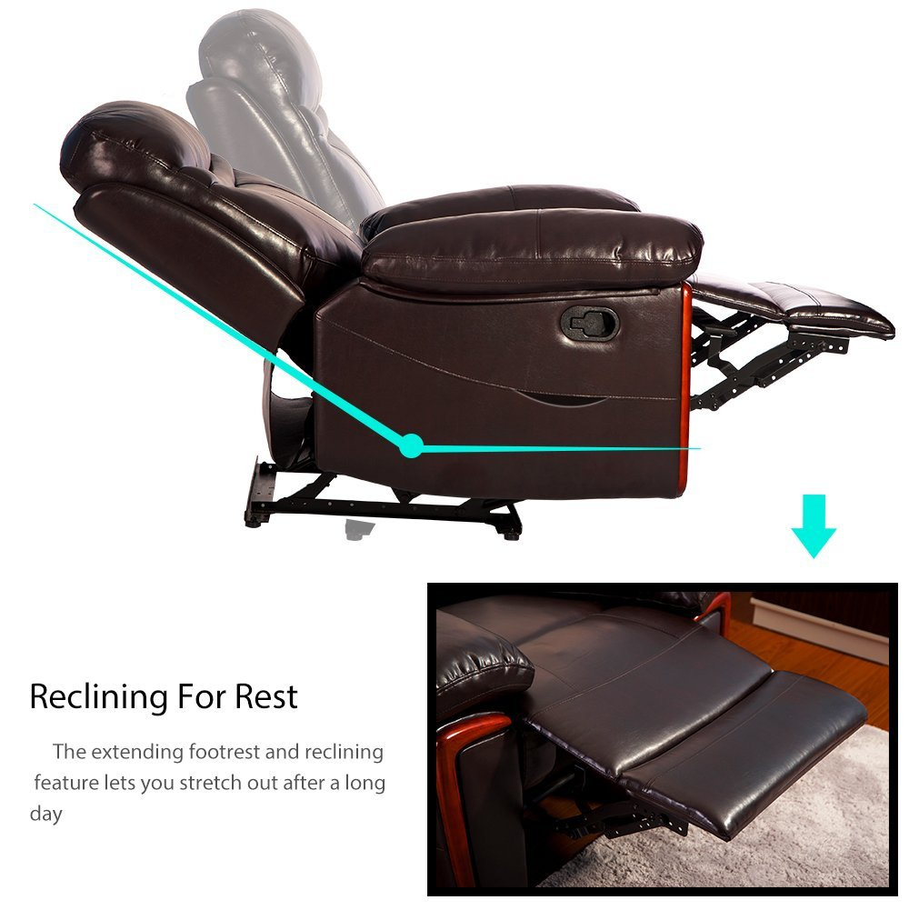 Power Massage Reclining Chair With Heat ...