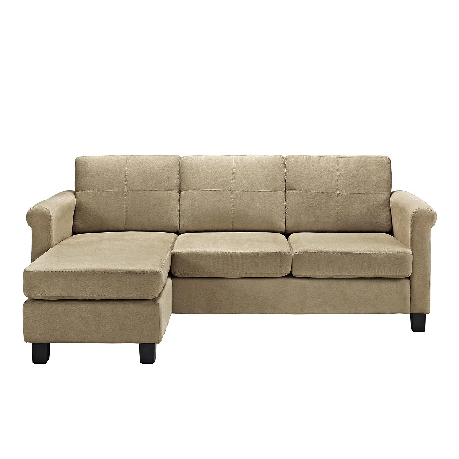 Configurable Sectional Sofa Taupe Discount Furniture Warehouse