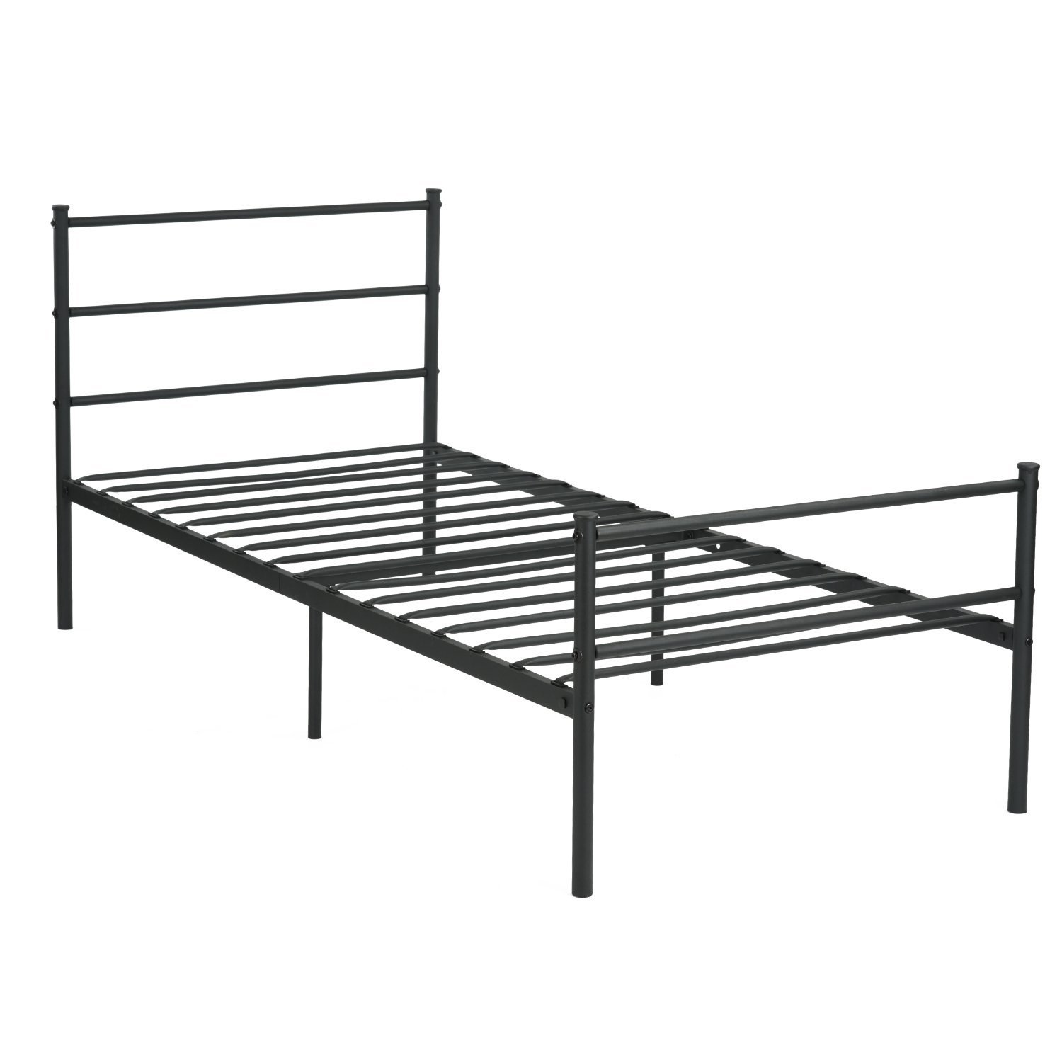 metal bed frame twin mattress set bed mattress weekly special rochester overstock. Black Bedroom Furniture Sets. Home Design Ideas