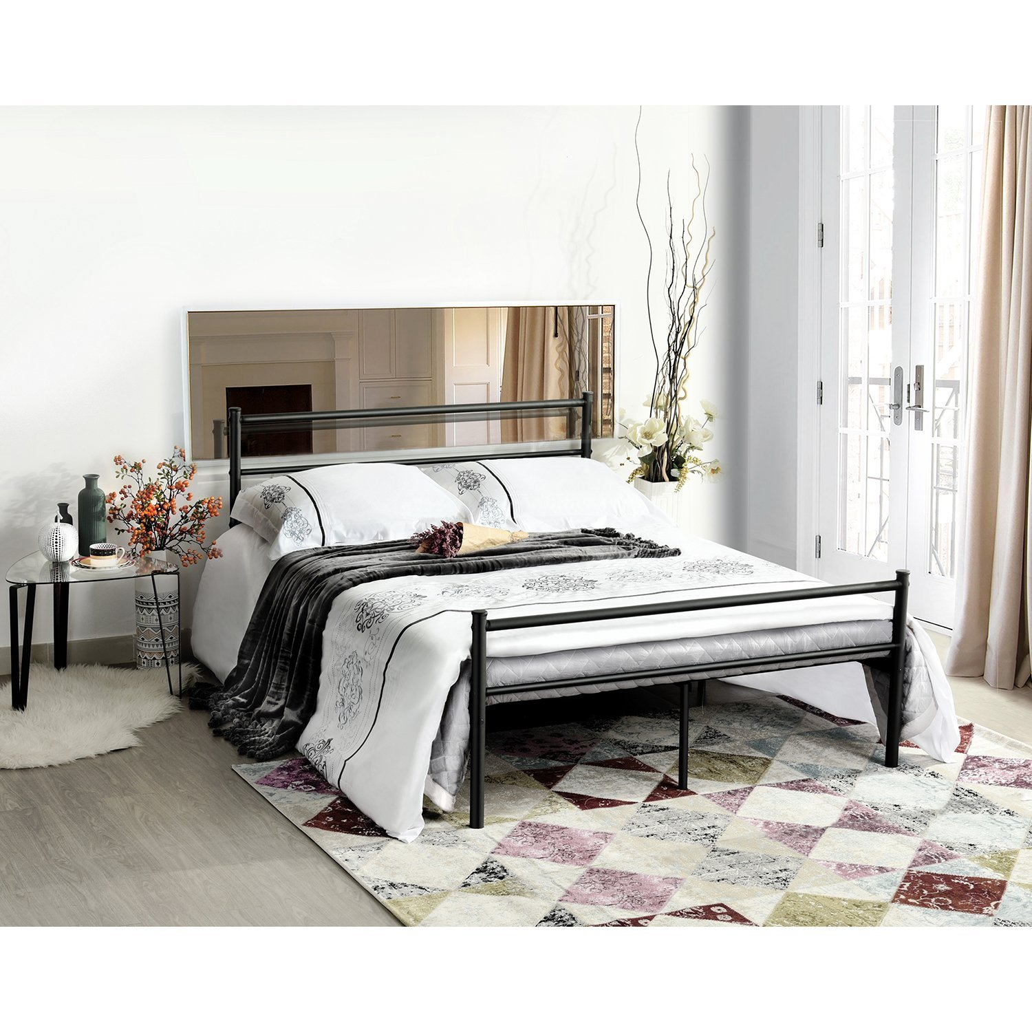 Overstock Clearance Furniture: Full Metal BedSet & Full Mattress (Weekly Special