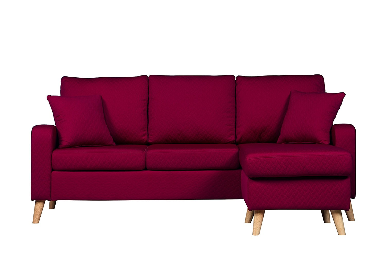 Sectional Sofa With Reversible Chaise 10 Colors