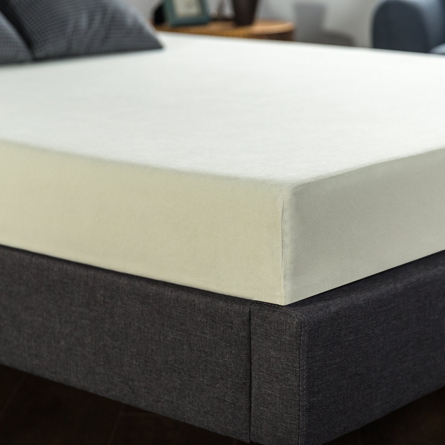 Ultimate comfort memory foam 6 inch mattress queen for Are memory foam mattresses comfortable