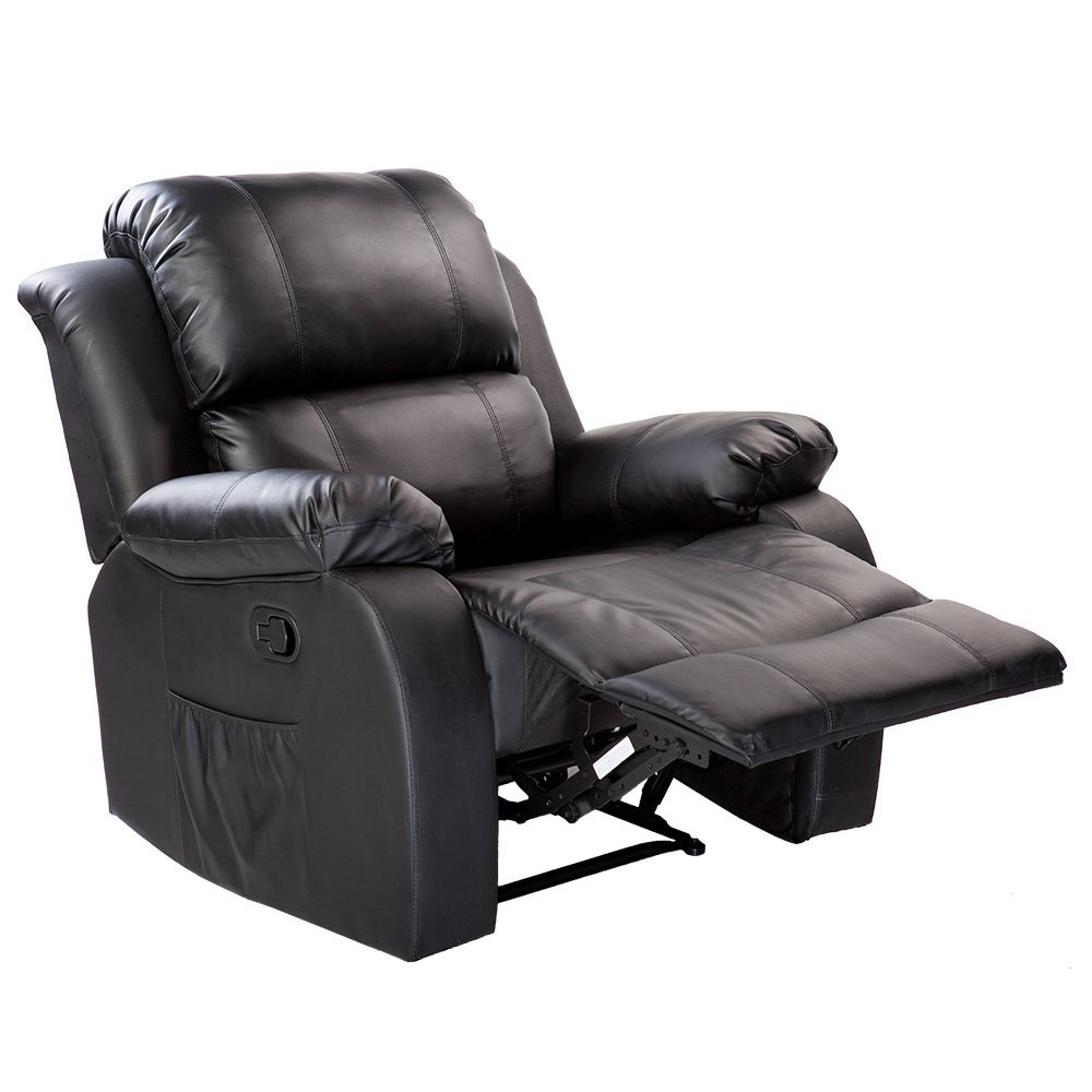 Modern Heated Massage Recliner Sofa Chair Ergonomic Lounge