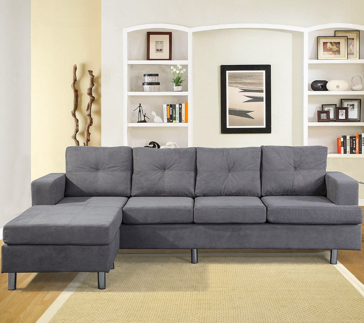 sofa with reversible chaise lounge displaying gallery of sofas with reversible chaise lounge