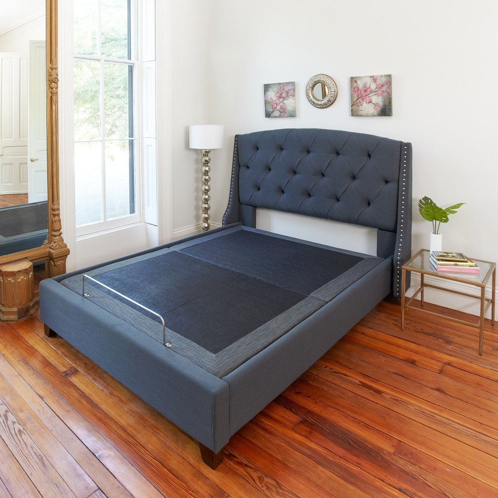 Deluxe Adjustable Comfort Adjustable Bed Base With Massage