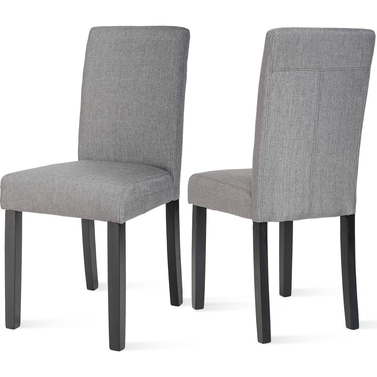 Dining Chairs Set Of 2 Urban Style Padded Parson Chair