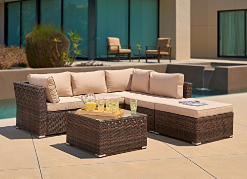 Outdoor Furniture Sectional Sofa