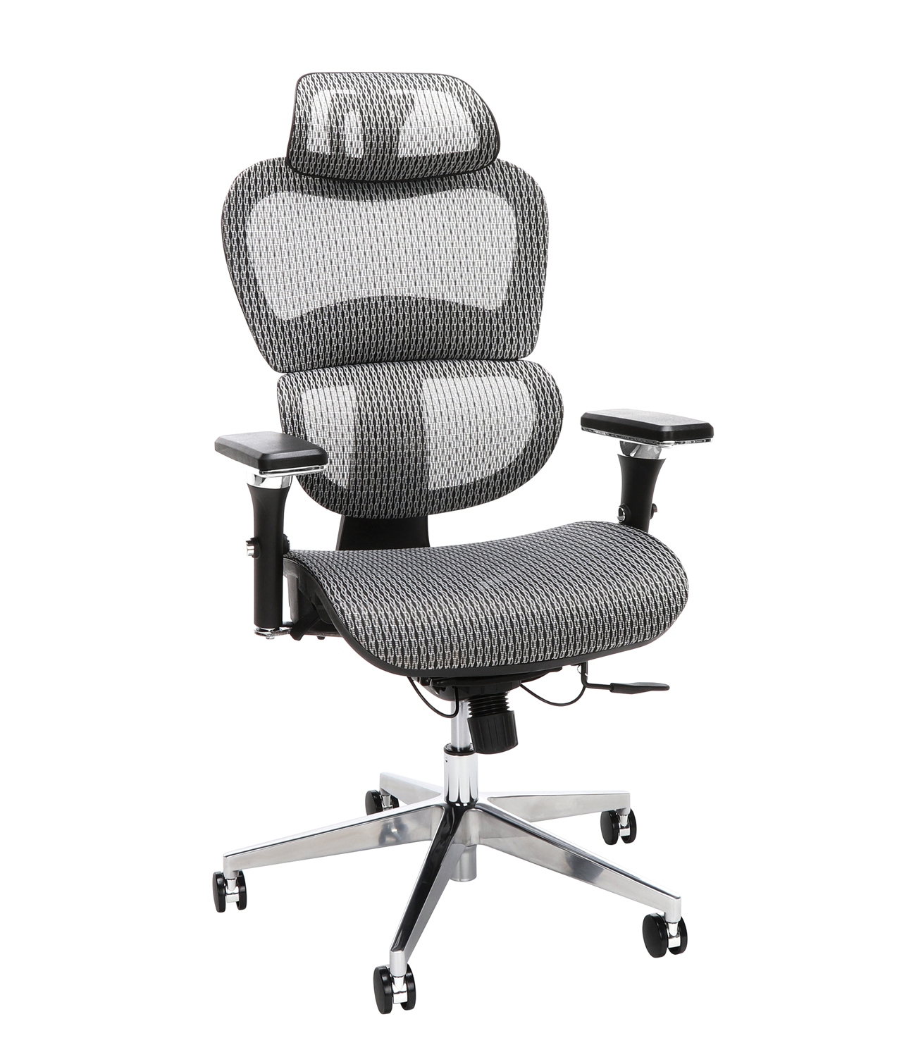 Ofm Office Model 540 Core Collection Ergo Mesh Office Chair With Head Rest Gray